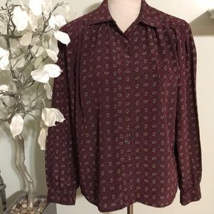 JH COLLECTIBLES BLOUSE